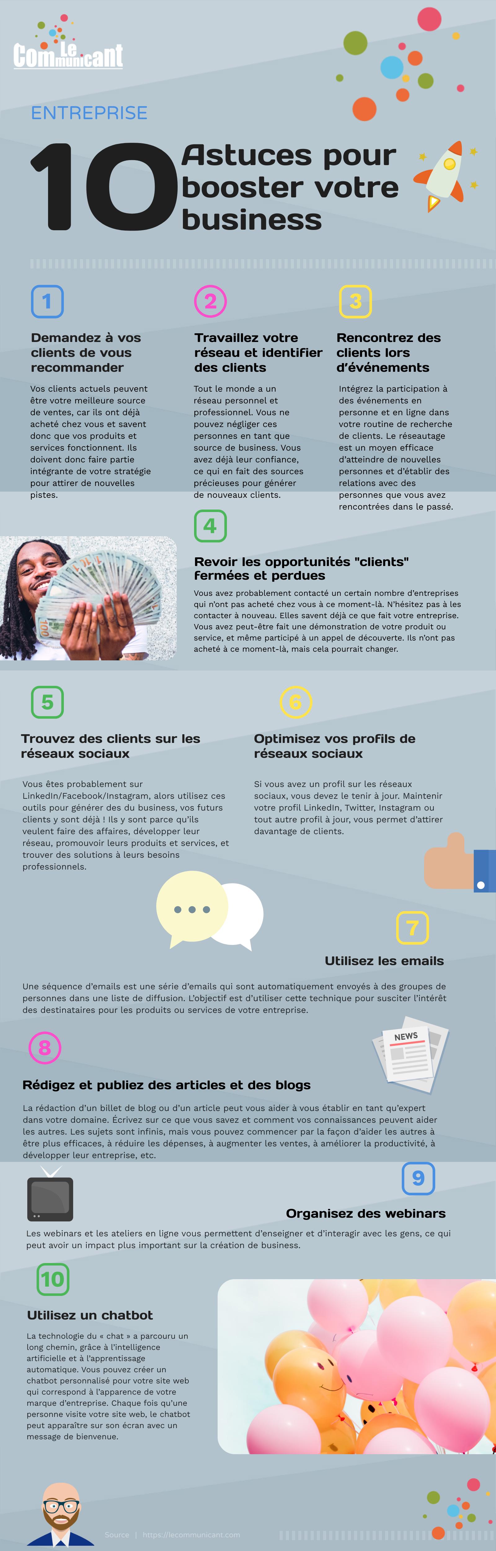 10 astuces pour booster votre business